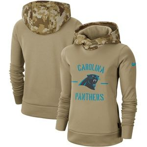 Women's Carolina Panthers Pullover Hoodie